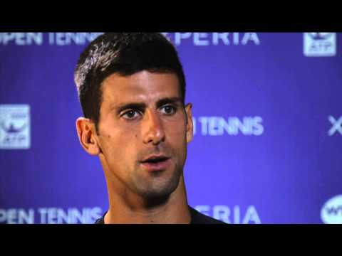 Djokovic Discusses Fourth-Round Win Over Robredo At 2014 Sony Open Tennis