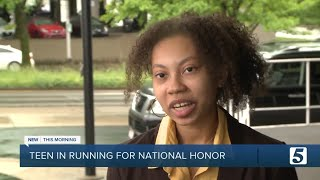 Hillsboro High School's Alora Young in running to be National Youth Poet Laureate