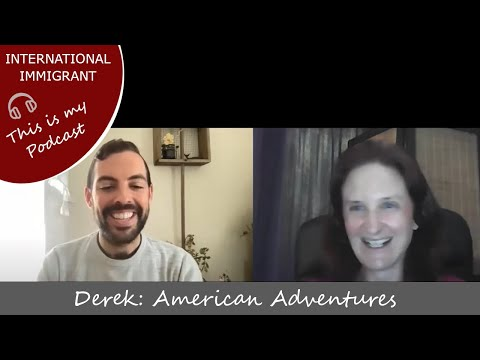 Podcast Episode 4 - Derek: American Adventures, teaching English and studying abroad
