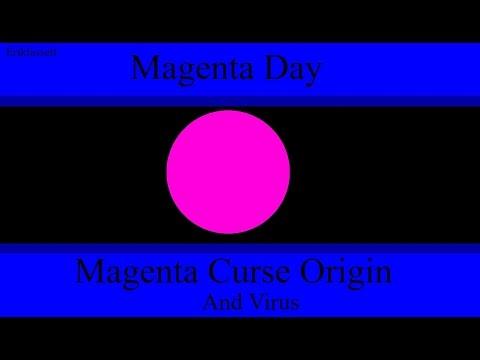 Algodoo Marble Race - Magenta Curse Origin Story