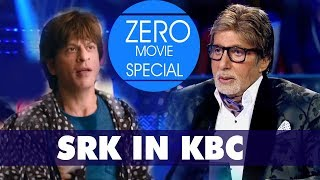 BAUAA IN KBC l SHAH RUKH KHAN IN KBC l KBC SPOOF l SRK  KBC l ZERO l ZERO TRAILER SPOOF l KBC l SRK