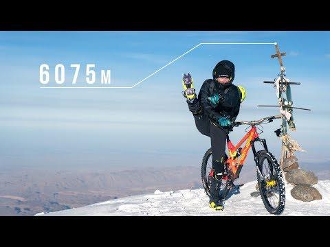 Must Watch: Kilian Bron's Via Ferrata Dolomite ride is almost Mission impossible