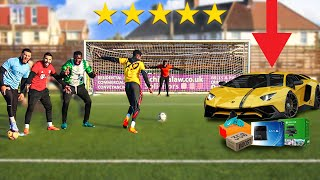 I Created A Football Competition, WIN = I'll Buy You Anything - Challenge
