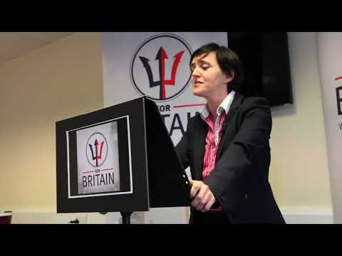 Anne Marie Waters    A New Party