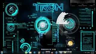 Tron Legacy 3D Desktop