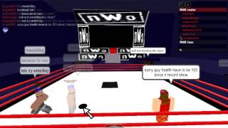 Return of rwe(roblox,wrestling,entertainment) ep 1