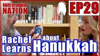 The Hanukkah Story (Rachel's Tea Party) | KIDS IMAGINE NATION | Preschool Learning Video