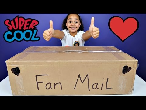 GIANT  PO BOX FAN MAIL PRESENTS - Surprise Toys For Kids - Shopkins - Candy Opening