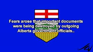 Were important documents being destroyed by outgoing Alberta government ?  YouTube