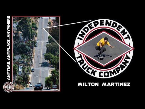 Milton Survives Gnarliest Hillbomb in San Diego
