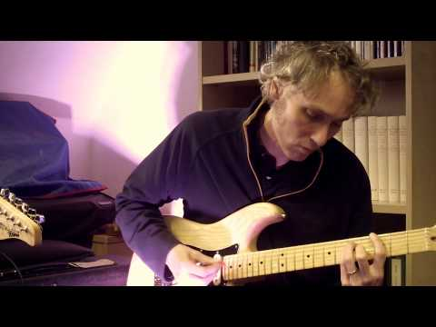 New guitar strings - In tune chords with trem on Strat by Jonathan Kemp, University of St Andrews
