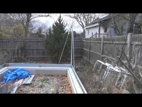 Harbor Freight Greenhouse Assembly Part 1