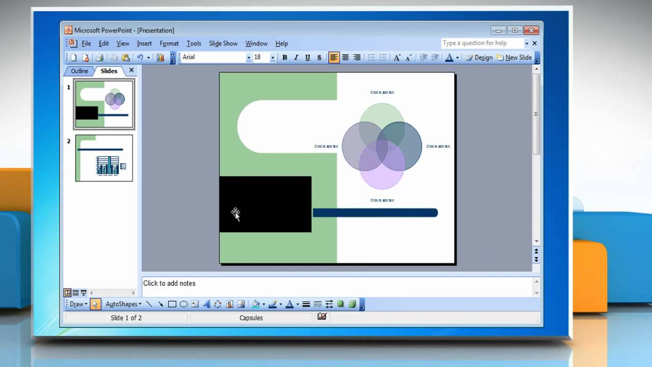 Microsoft� Powerpoint 2003: How To Insert A Movie Presentation On Windows�  7? Inserting Youtube Video