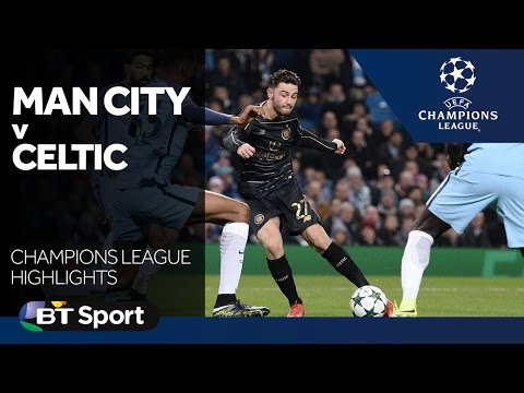 Manchester City 1-1 Celtic   Champions League highlights New Flash Game