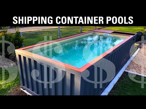 Should you buy a shipping container pool?