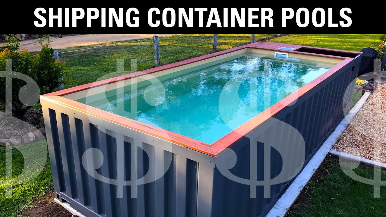 Should You Buy A Shipping Container Pool Youtube