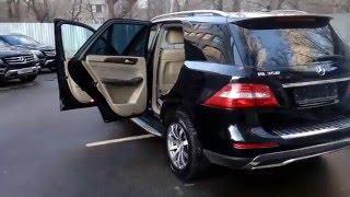Купить Мерседес M-класса 2013 года (W166) черный бензин 350 - Москва(, 2016-02-05T19:46:58.000Z)