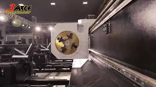 【大管徑金屬切管機】TAHT-L500 Φ426mm 10mm碳鋼管切割。管材雷射切割機
