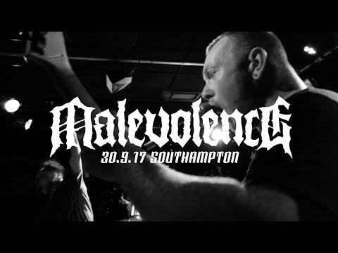 MALEVOLENCE - 30.9.17 - SOUTHAMPTON - FULL SET