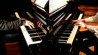 よみぃです。今回はかてぃん氏こと角野隼斗さんと一緒に、「FLOWER」を2台ピアノで弾いてみました。 録音した際に謎の遅延が発生してしまい、...