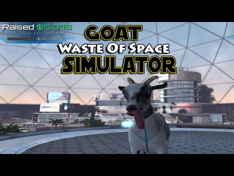 WASTE OF TIME AND SPACE!?-Goat Simulator Waste Of Space DLC |