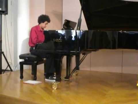 Jasim Playing Billy Joel's Invention In C Minor