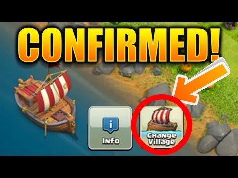 MULTIPLE VILLAGES CONFIRMED! LEAKED UPDATE Change Village Update Feature Clash of Clans 2017!