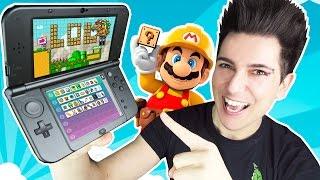 JUGANDO A MARIO MAKER 3DS!!! | Desafio Super Mario