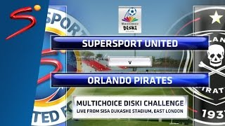 MDC '16 - SuperSport United vs Orlando Pirates