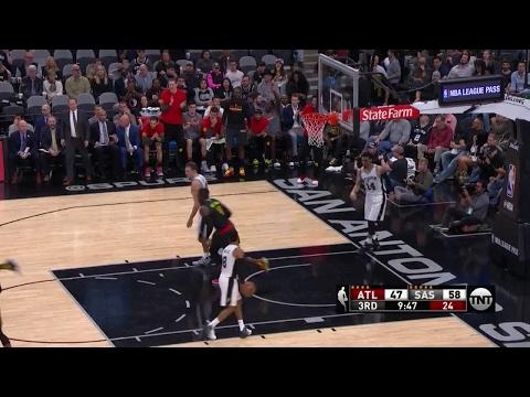 Quarter 3 One Box Video :Spurs Vs. Hawks, 3/13/2017 12:00:00 AM