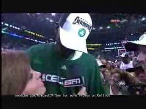Kevin Garnett - NBA Finals 2008 Game 6 Postgame Interview HQ