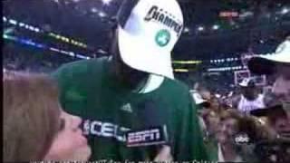 Kevin Garnett - NBA Finals 2008 Game 6 Postgame Interview HQ