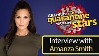 How Selling Sunset's Amanza Smith is Surviving the Quarantine   AfterBuzz TV