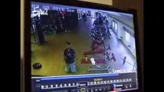 Visuals Of An Youngster Died In GYM In Hyderabad