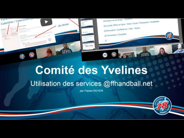 CDHBY - Visio conférence - les outils @ffhandball