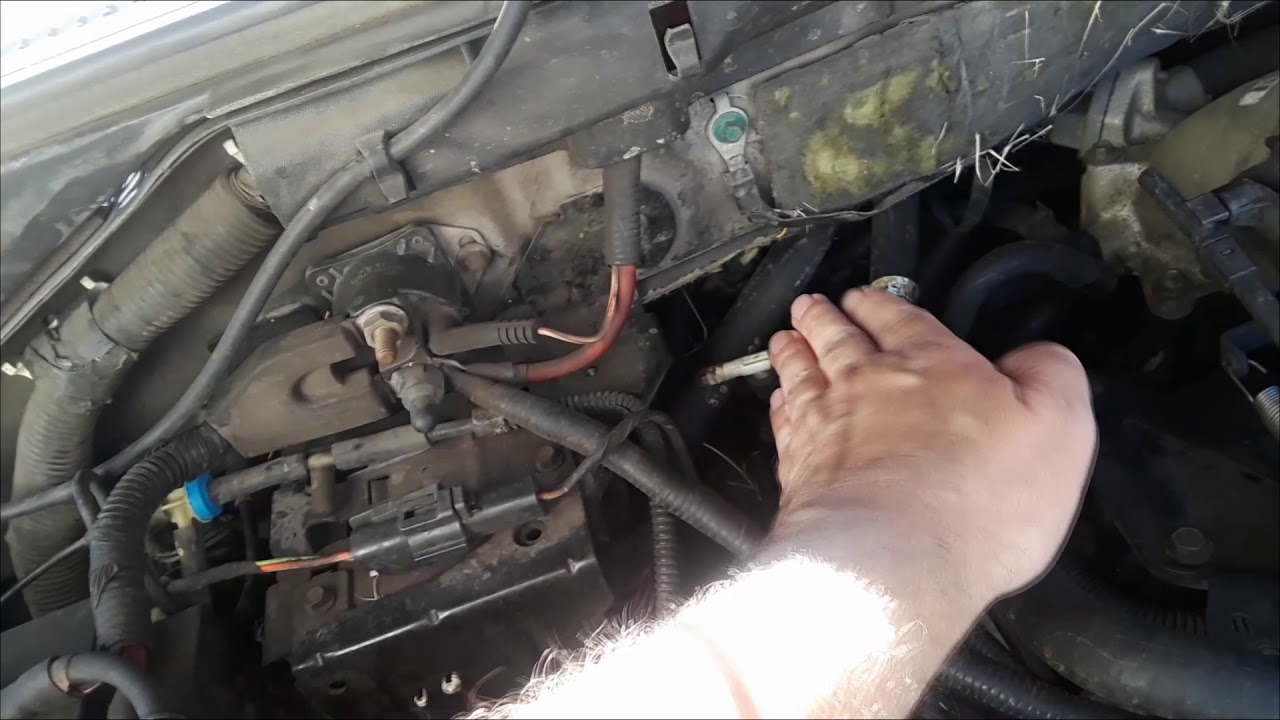 How To Fix No Air From Vents And P0401 Obd2 Code 2003 Ford F150 Youtube