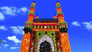 paper quilling art | How to Make Paper Quilling charminar - by using paper strips