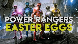 POWER RANGERS (2017) Easter Eggs, and References