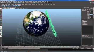 Tutorial maya 2013 español- Crear planeta tierra.