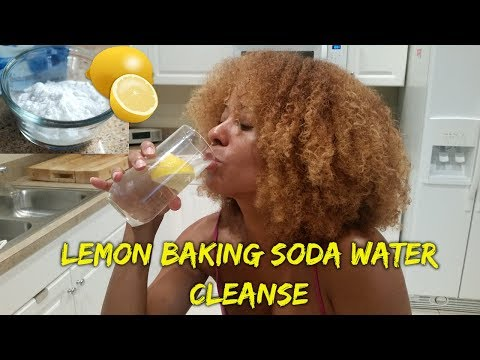 lemon-baking-soda-water-3-day-detox–-weight-loss-challenge-cleanse-(before-part-1)
