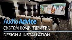 Audio Advice Custom Home Theater Design & Installation