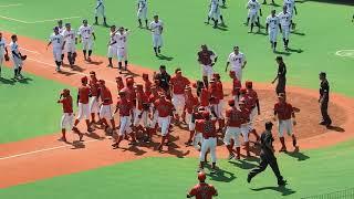 社会人野球日本選手権関東予選 東芝、代表決定の瞬間
