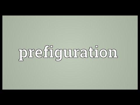 Header of prefiguration