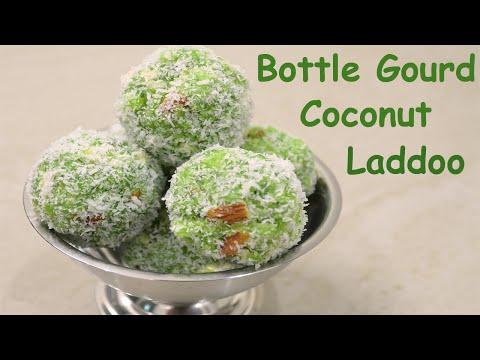 Lauki Coconut Laddoo recipe     Bottle Gourd Coconut Laddoo