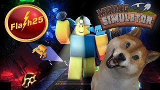 Roblox Mining Simulator Way to 1.5k Rebirth🔴Hat Giveaway(Except Limited)