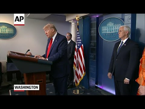 Trump: Energy markets impacted by virus threat