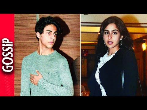 Sara Ali Khan Debut With Aryan Khan - Bollywood Gossip 2016