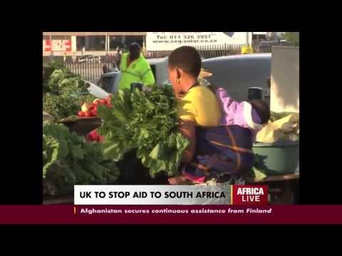 UK to Stop AID to South Africa