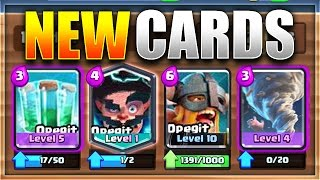BIGGEST UPDATE LEAK EVER (4 NEW CARDS)!   NEW Clash Royale Update Possibility!