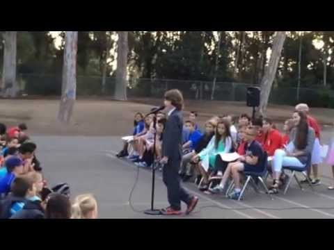 Most Awesome Student Council President Speech